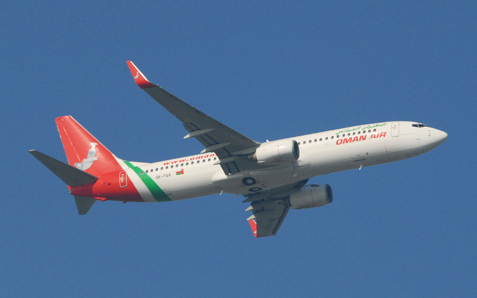 hs-tgjさんのオマーン航空 Boeing 737-800 (OK-TVA) 航空フォト