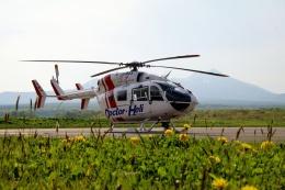 TA27さんが、鹿部飛行場で撮影したセントラルヘリコプターサービス BK117C-2の航空フォト(飛行機 写真・画像)