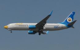 hs-tgjさんが、スワンナプーム国際空港で撮影したノックエア 737-8Q8の航空フォト(飛行機 写真・画像)
