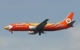 hs-tgjさんが、スワンナプーム国際空港で撮影したノックエア 737-4S3の航空フォト(飛行機 写真・画像)