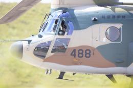 norimotoさんが、三沢飛行場で撮影した航空自衛隊 CH-47J/LRの航空フォト(飛行機 写真・画像)