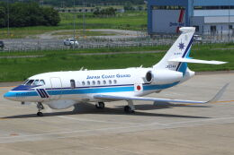 CYGNUS_20-1101さんが、米子空港で撮影した海上保安庁 Falcon 2000EXの航空フォト(飛行機 写真・画像)