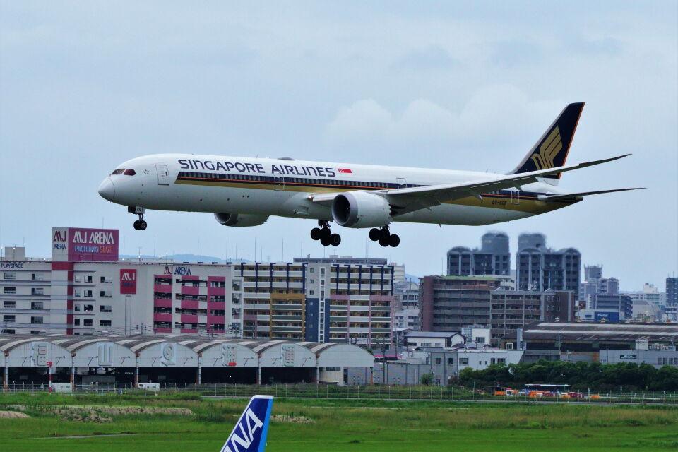 yoshibouさんのシンガポール航空 Boeing 787-10 (9V-SCN) 航空フォト