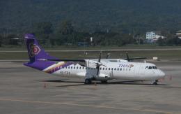 hs-tgjさんが、チェンマイ国際空港で撮影したタイ国際航空 ATR 72-201の航空フォト(飛行機 写真・画像)