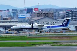 yoshibouさんが、福岡空港で撮影したANAウイングス DHC-8-402Q Dash 8の航空フォト(飛行機 写真・画像)