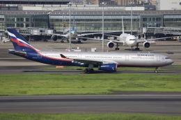 sky-spotterさんが、羽田空港で撮影したアエロフロート・ロシア航空 A330-343Xの航空フォト(飛行機 写真・画像)
