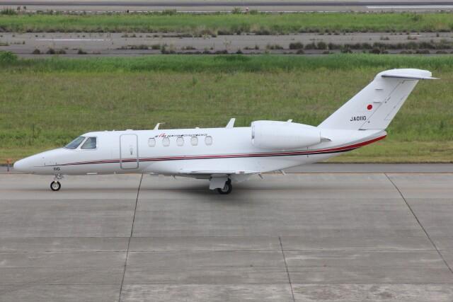 もにーさんが、小松空港で撮影した国土交通省 航空局 525C Citation CJ4の航空フォト(飛行機 写真・画像)