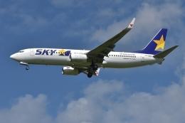 qooさんが、福岡空港で撮影したスカイマーク 737-81Dの航空フォト(飛行機 写真・画像)