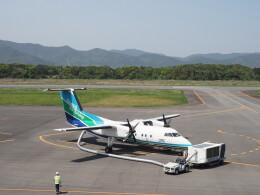 ガスパールさんが、五島福江空港で撮影したオリエンタルエアブリッジ DHC-8-202Q Dash 8の航空フォト(飛行機 写真・画像)