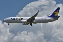 qooさんが、福岡空港で撮影したスカイマーク 737-8FZの航空フォト(飛行機 写真・画像)