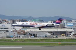 神宮寺ももさんが、福岡空港で撮影したアイベックスエアラインズ CL-600-2C10(CRJ-702)の航空フォト(飛行機 写真・画像)