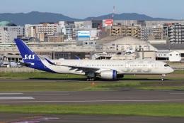 kan787allさんが、福岡空港で撮影したスカンジナビア航空 A350-941の航空フォト(飛行機 写真・画像)