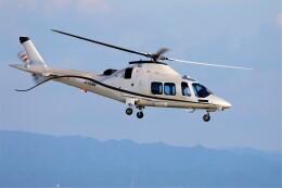 PW4090さんが、神戸空港で撮影したノエビア AW109SP GrandNewの航空フォト(飛行機 写真・画像)