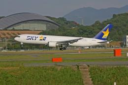 tsubameさんが、福岡空港で撮影したスカイマーク 767-3Q8/ERの航空フォト(飛行機 写真・画像)
