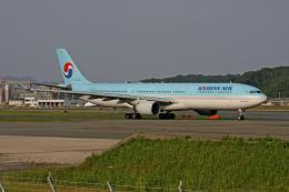 tsubameさんが、福岡空港で撮影した大韓航空 A330-322の航空フォト(飛行機 写真・画像)