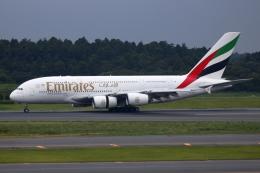 ▲®さんが、成田国際空港で撮影したエミレーツ航空 A380-861の航空フォト(飛行機 写真・画像)