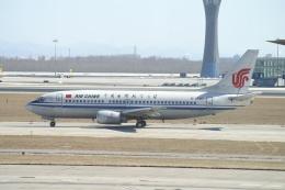 磐城さんが、北京首都国際空港で撮影した中国国際航空 737-3Z0の航空フォト(飛行機 写真・画像)