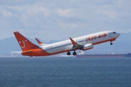 磐城さんが、中部国際空港で撮影したチェジュ航空 737-8Q8の航空フォト(飛行機 写真・画像)