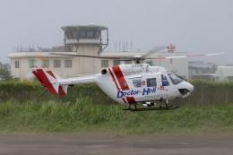 TA27さんが、八尾空港で撮影したセントラルヘリコプターサービス BK117C-1の航空フォト(飛行機 写真・画像)