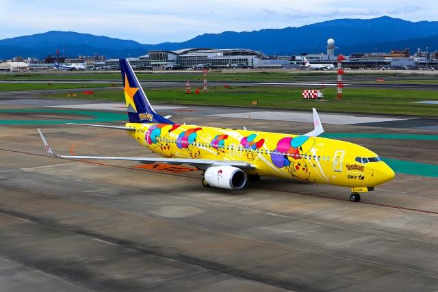 ansett747さんが、福岡空港で撮影したスカイマーク 737-8ALの航空フォト(飛行機 写真・画像)
