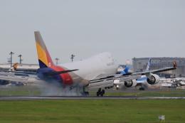 flyskyさんが、成田国際空港で撮影したアシアナ航空 747-48EF/SCDの航空フォト(飛行機 写真・画像)