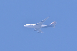 レガシィさんが、宇都宮市内で撮影したアトラス航空 747-446の航空フォト(飛行機 写真・画像)
