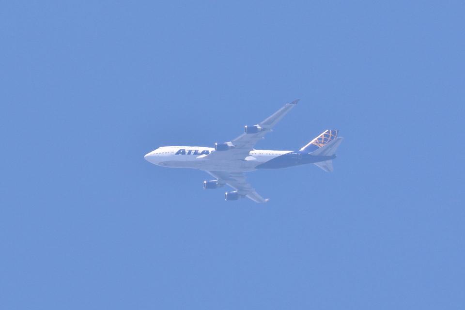 レガシィさんのアトラス航空 Boeing 747-400 (N464MC) 航空フォト