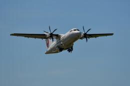 天心さんが、伊丹空港で撮影した日本エアコミューター ATR 42-600の航空フォト(飛行機 写真・画像)