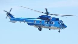 航空見聞録さんが、神戸空港で撮影したエアバス・ヘリコプターズ・ジャパン EC225LP Super Puma Mk2+の航空フォト(飛行機 写真・画像)