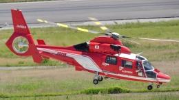 航空見聞録さんが、神戸空港で撮影した名古屋市消防航空隊 AS365N3 Dauphin 2の航空フォト(飛行機 写真・画像)