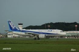 shori0220さんが、松山空港で撮影した全日空 A320-271Nの航空フォト(飛行機 写真・画像)