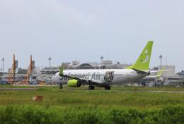 navipro787さんが、宮崎空港で撮影したソラシド エア 737-86Nの航空フォト(飛行機 写真・画像)