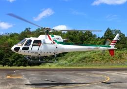 LOTUSさんが、奈良県ヘリポートで撮影したアカギヘリコプター AS350B3 Ecureuilの航空フォト(飛行機 写真・画像)
