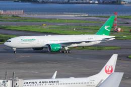 しゃこ隊さんが、羽田空港で撮影したトルクメニスタン航空 777-200/LRの航空フォト(飛行機 写真・画像)