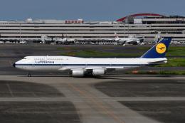 Deepさんが、羽田空港で撮影したルフトハンザドイツ航空 747-830の航空フォト(飛行機 写真・画像)