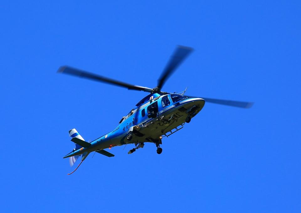 タミーさんの愛知県警察 Agusta A109 (JA6922) 航空フォト