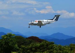 タミーさんが、静岡空港で撮影したフランス企業所有 B200 Super King Airの航空フォト(飛行機 写真・画像)