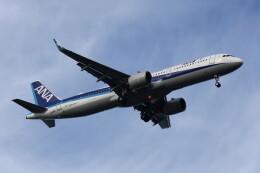 動物村猫君さんが、大分空港で撮影した全日空 A321-272Nの航空フォト(飛行機 写真・画像)