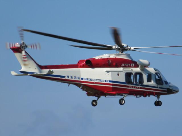 ランチパッドさんが、静岡空港で撮影した横浜市消防航空隊 AW139の航空フォト(飛行機 写真・画像)