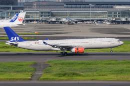 kuraykiさんが、羽田空港で撮影したスカンジナビア航空 A330-343Xの航空フォト(飛行機 写真・画像)