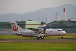 ここはどこ?さんが、札幌飛行場で撮影した北海道エアシステム ATR-42-600の航空フォト(飛行機 写真・画像)