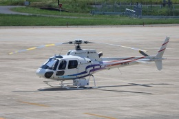 MIRAGE E.Rさんが、米子空港で撮影したつくば航空 AS350B2 Ecureuilの航空フォト(飛行機 写真・画像)