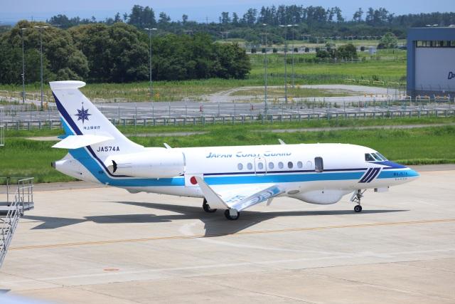 MIRAGE E.Rさんが、米子空港で撮影した海上保安庁 Falcon 2000EXの航空フォト(飛行機 写真・画像)