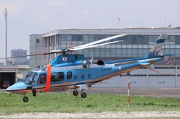 KAZFLYERさんが、東京ヘリポートで撮影した警視庁 A109E Powerの航空フォト(飛行機 写真・画像)