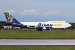 シン・マリオ先輩さんが、横田基地で撮影したアトラス航空 747-446の航空フォト(飛行機 写真・画像)
