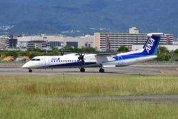 md11jbirdさんが、伊丹空港で撮影したANAウイングス DHC-8-402Q Dash 8の航空フォト(飛行機 写真・画像)