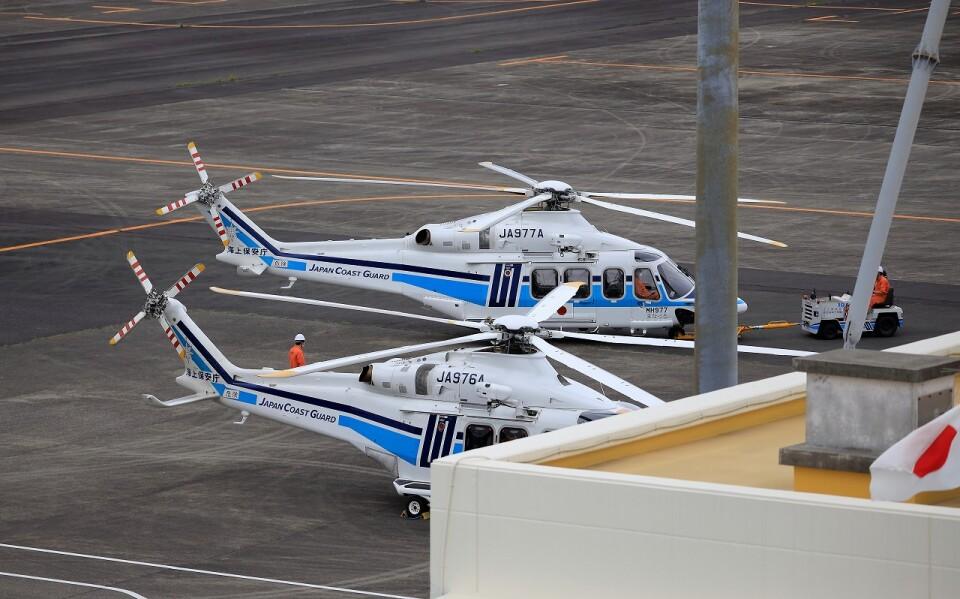 EosR2さんの海上保安庁 AgustaWestland AW139 (JA977A) 航空フォト