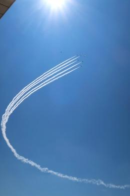 Hiro-hiroさんが、入間飛行場で撮影した航空自衛隊 T-4の航空フォト(飛行機 写真・画像)