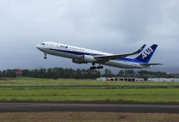 ひめままさんが、宮崎空港で撮影した全日空 767-381/ERの航空フォト(飛行機 写真・画像)