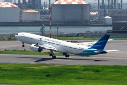 shao804さんが、羽田空港で撮影したガルーダ・インドネシア航空 A330-941の航空フォト(飛行機 写真・画像)